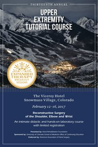 Upper extremity tutorial course